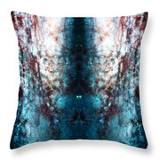 Cosmic Winter Throw Pillow by Jennifer Rondinelli Reilly - Fine Art Photography