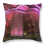 Cosmo Chandeliers  Throw Pillow