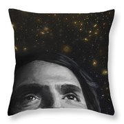 Cosmos- Carl Sagan Throw Pillow