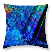 Cosmos Of Colour Throw Pillow