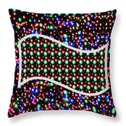 Cosmos Riot Of Colorful Stars And The Sky Materials  Remember Our Planet Look The Same From That Dis Throw Pillow