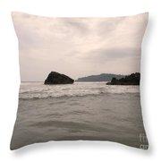 Costa Rica Coast Throw Pillow