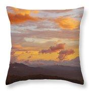 Costa Rica Evening Sky Throw Pillow