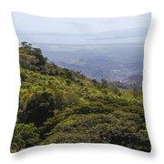 Costa Rica Landscape Throw Pillow