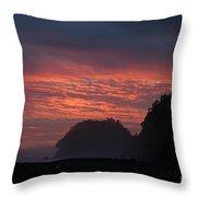 Costa Rica Sunset Throw Pillow