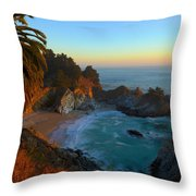 Costal Paradise Throw Pillow