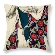 Costume Design Throw Pillow