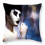 Costume Of Control Version Two  Throw Pillow