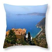 Cote D'azur Throw Pillow
