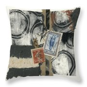 Cote D'ivoire Throw Pillow