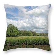 Cotswold Landscape Throw Pillow