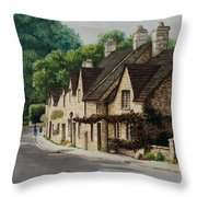 Cotswold Street Throw Pillow
