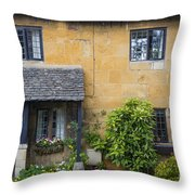 Cotswolds Cottage Throw Pillow