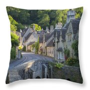 Cotswolds Morning Throw Pillow