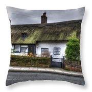 Cottage 3 Throw Pillow