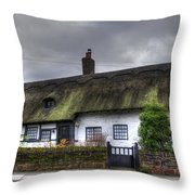 Cottage 4 Throw Pillow