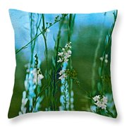Cottage Garden Three Throw Pillow