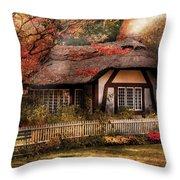 Cottage - Nana's House Throw Pillow