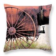 Cotton Boom In Castolon #3 Throw Pillow