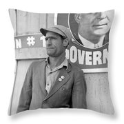 Cotton Striker, 1938 Throw Pillow