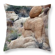 Cottonwood Bhudda Throw Pillow