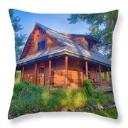 Cottonwood Cottage  Throw Pillow