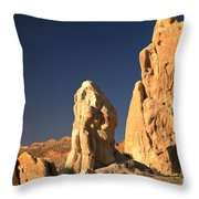 Cottonwood Towers Throw Pillow