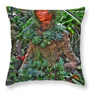 Could Her Name Be Ivy... Buffalo Botanical Gardens Series Throw Pillow