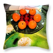 Coulouful Easter Throw Pillow