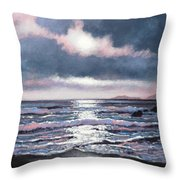 Coumeenole Beach  Dingle Peninsula  Throw Pillow