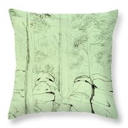 Council Of The Elders Throw Pillow