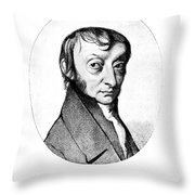 Count Amedeo Avogadro (1776-1856) Throw Pillow