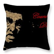Count Dracula Visits Halifax Throw Pillow