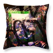 Counterculture Of The 1960s Throw Pillow