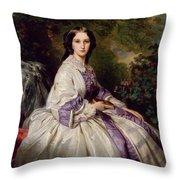 Countess Alexander Nikolaevitch Lamsdorff. Maria Ivanovna Beck Throw Pillow