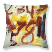 Counting With Sam Throw Pillow