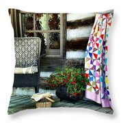 Country Accents Throw Pillow