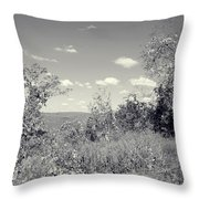 Country Beyond Throw Pillow