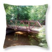 Country Bridge Throw Pillow
