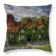 Country Cafe Throw Pillow