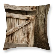 Country Charm Throw Pillow by Amy Weiss
