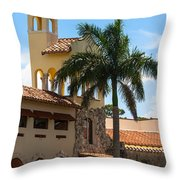 Country Club Of Coral Gables Throw Pillow