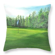 Country Club Throw Pillow