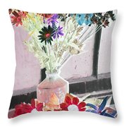 Country Comfort - Photopower 457 Throw Pillow