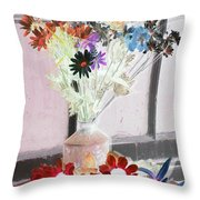 Country Comfort - Photopower 460 Throw Pillow