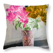 Country Comfort - Photopower 485 Throw Pillow