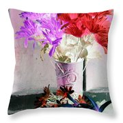 Country Comfort - Photopower 488 Throw Pillow