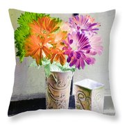 Country Comfort - Photopower 491 Throw Pillow
