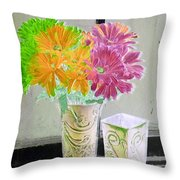 Country Comfort - Photopower 492 Throw Pillow