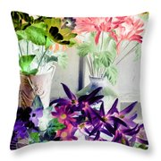 Country Comfort - Photopower 514 Throw Pillow
